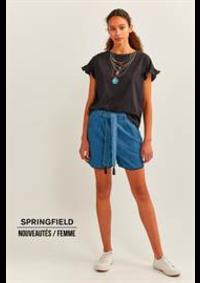 Prospectus Springfield PARIS 22 RUE DU DÉPART : Nouveautés / Femme