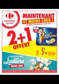 Prospectus Carrefour Market NANTERRE : Maintenant et moins cher !