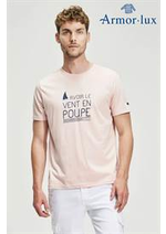 Catalogues et collections Armor Lux : T- Shirts Homme