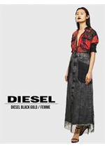 Catalogues et collections Diesel : Diesel Black Gold Femme