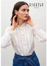 Prospectus Claudie pierlot  : Collection Chemises & Tops