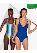 Catalogues et collections Benetton : Summer heats up
