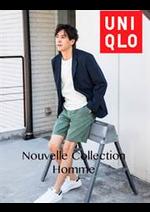 Catalogues et collections Uniqlo : Nouvelle Collection Homme