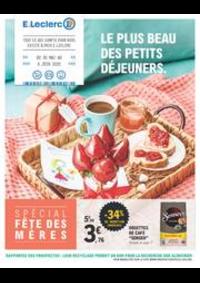 Prospectus E.Leclerc VILLEPARISIS : Le plus beau des petits déjeuners