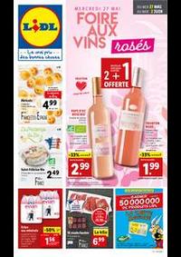 Prospectus Lidl HAZEBROUCK : Foire aux vins rosés