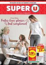 Promos et remises Super U : Catalogue Super U
