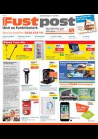 Prospectus Fust Basel - Güterstrasse  : Fust Post