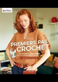 Prospectus Phildar Conflans-Sainte-Honorine : Premier Pas au Crochet