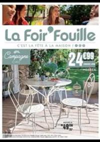 Prospectus La Foir'Fouille DOUBS : C'est la fête à la maison!