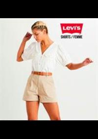 Prospectus Levi's Store La Part Dieu : Shorts / Femme