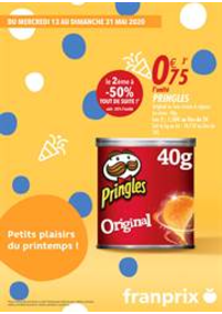 Prospectus Franprix PARIS 27 rue du Faubourg Saint Denis : Petits plaisirs du printemps!