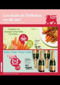 Prospectus Supermarché Delhaize Hornu : Nouveau: Promotion de la semaine