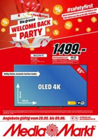 Prospectus Media Markt Bern  : Welcome Back Party!