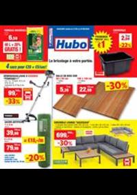 Promos et remises Hubo Auvelais : Depliant Hubo