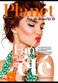 Journaux et magazines Planet Parfum Parfumerie Berchem-Sainte-Agathe Basilix : Summer trends