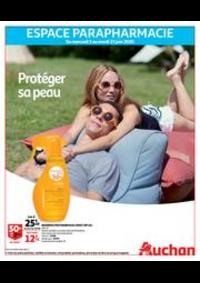 Prospectus Auchan Val d'Europe Marne-la-Vallée : Protéger sa peau