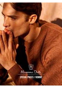 Catalogues et collections Massimo Dutti LYON : Special Prices  Homme