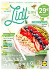 Journaux et magazines Lidl PARIS 247 rue de Crimée : Eté 2020