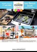 Prospectus Cuisine plaisir : Les Beaux Jours faites vous plaisir!