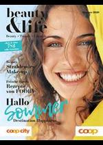 Journaux et magazines Coop City : Beauty&Life Magazin