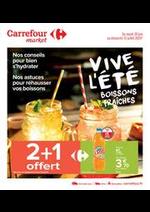 Prospectus Carrefour Market : Vive l'été