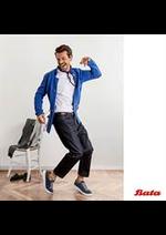 Prospectus Bata : Collection Homme
