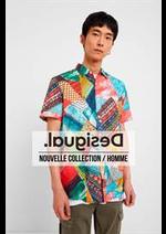 Catalogues et collections Desigual : Nouvelle Collection  Homme