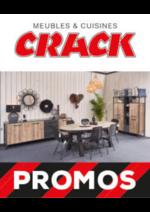 Promos et remises Meubles Crack : PROMOS