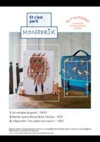 Prospectus Monoprix : Et c'est parti