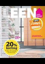 Promos et remises Leen Bakker : leen Folder Week