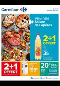 Prospectus Carrefour GENNEVILLIERS : Vive l'été, saison des apéros