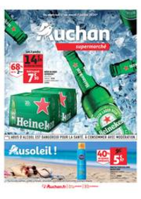Prospectus Auchan PUTEAUX : Au soleil !