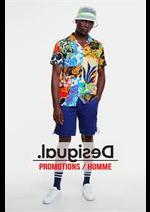 Catalogues et collections Desigual : Promotions  Homme
