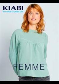 Prospectus Kiabi Nemours : Femme