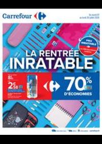 Prospectus Carrefour WASQUEHAL : La rentrée inratable