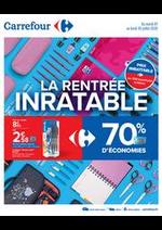 Prospectus Carrefour : La rentrée inratable
