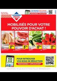 Prospectus Leader Price Joinville-le-Pont : Mobilisés pour votre pouvoir d'achat !