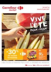 Prospectus Carrefour Market Paris Saint Ouen : Vive l été, pique-nique