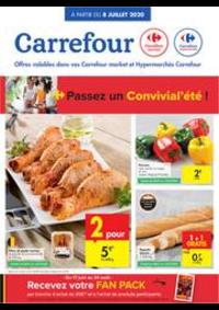 Prospectus Carrefour Market TAMINES : folder Carrefour Market