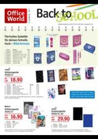 Prospectus Office World Bern : Back To School