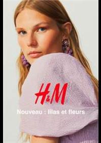 Catalogues et collections H&M Issy Les Moulineaux : Nouveau - lilas et fleurs