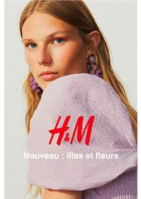 Catalogues et collections H&M Oostende : Nouveau - lilas et fleurs