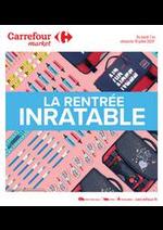 Prospectus Carrefour Market : La rentrée inratable