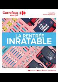 Prospectus Carrefour Market NANTERRE : La rentrée inratable