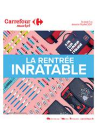 Prospectus Carrefour Market TOULOUSE JOLIMONT : La rentrée inratable