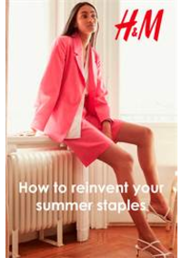 Catalogues et collections H&M Leuven - 69 Bondgenotenlaan : How to reinvent your summer staples
