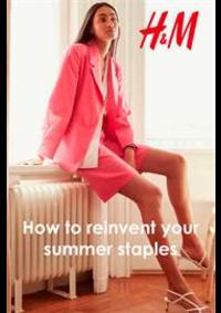 Prospectus H&M Charenton : How to reinvent your summer staples