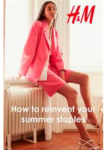 Catalogues et collections H&M : How to reinvent your summer staples