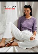 Catalogues et collections Massimo Dutti : Promotion  Femme