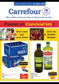 Prospectus Carrefour FROYENNES : folder Carrefour
